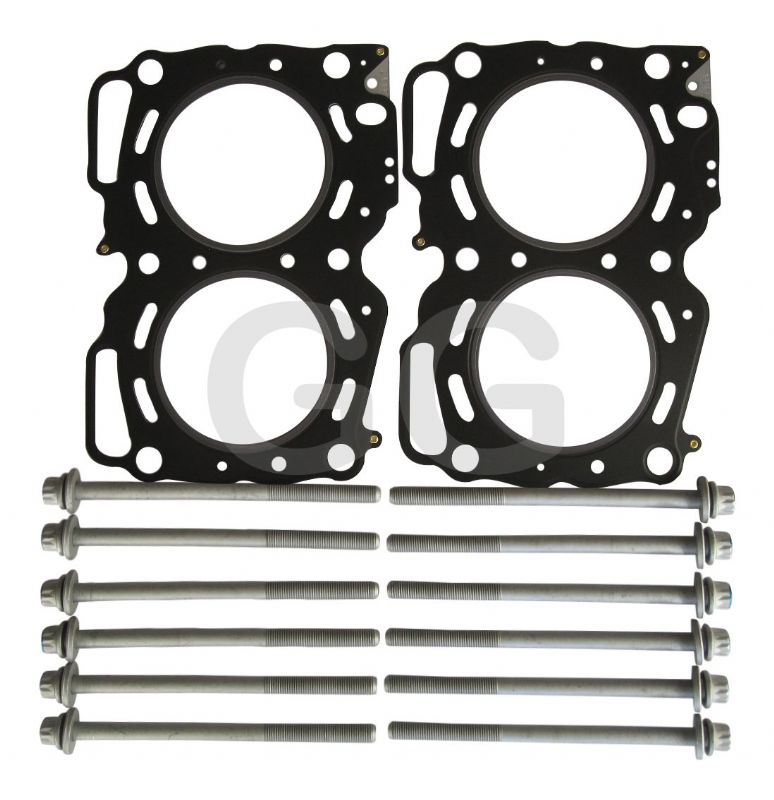 Impreza Turbo WRX STi Head Gasket Pair 1.6mm & Head Bolts Genuine Subaru GGS401.384